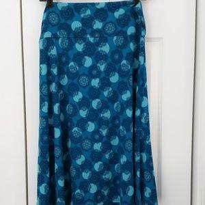 LuLaRoe Azure Skirt, A-line, size L